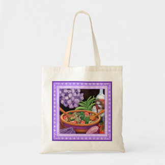 Island Cafe - Tropical Salad Tote Bag