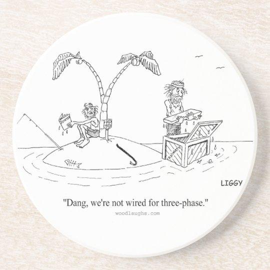 Island Cartoon Coaster