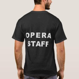 Island City Opera Staff tshirt