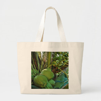 Island Coconuts Large Tote Bag