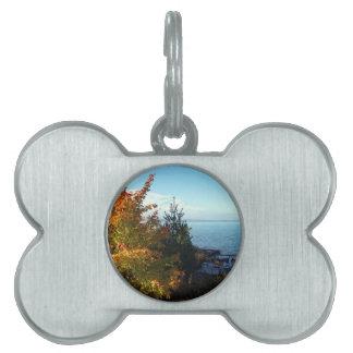 Island Colors, St Joseph Island, Ontario, Canada Pet Name Tag