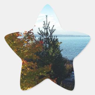 Island Colors, St Joseph Island, Ontario, Canada Star Sticker
