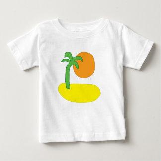 Island Drawing Baby T-Shirt