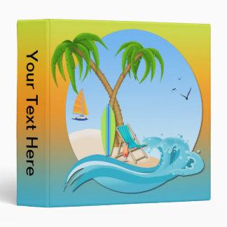 Island Dreams 3-Ring Binder