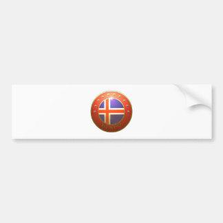 Island Flag Bumper Sticker