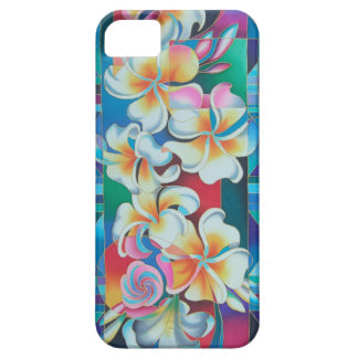 """""""ISLAND FLOWERS ~ FRANGIPANI"""" CASE FOR THE iPhone 5"""