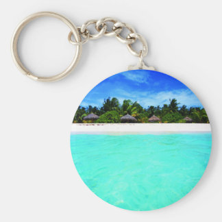Island from the sea keychain
