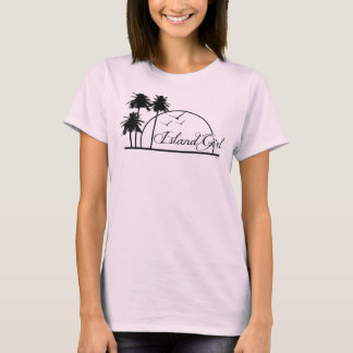 """Island Girl"" Baby Doll Fitted Tshirt"