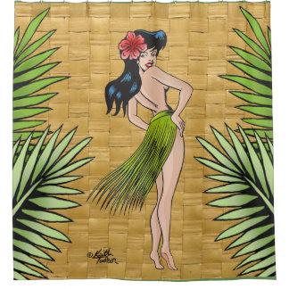 Island Girl Shower Curtain