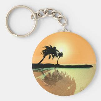 Island Gold Keychain