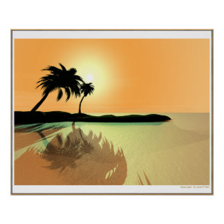 Island Gold Poster