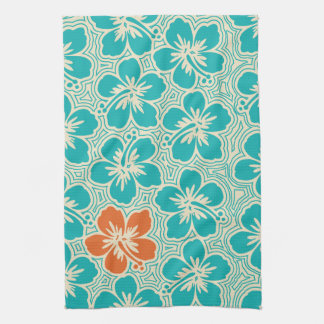 Island Hibiscus Hawaiian Kitchen Towel