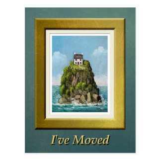 Island Home - I've Moved Postcard