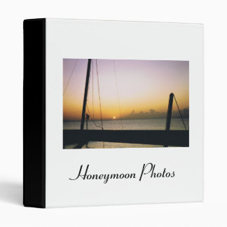 Island Honeymoon Photos Binders