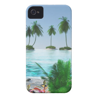 Island Hopping iPhone 4 Case-Mate Case