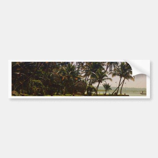 Island in backwaters bumper sticker