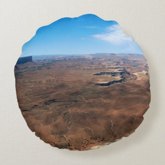 Island in the Sky Canyonlands National Park Utah Round Pillow