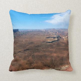 Island in the Sky Canyonlands National Park Utah Throw Pillow