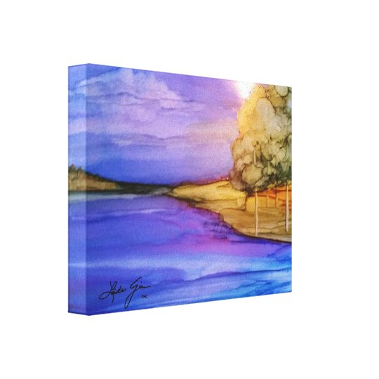 Island in the Sun Wrapped Canvas