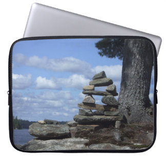 Island Inuksuk - Laptop Sleeve