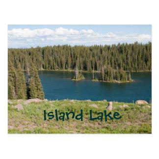 Island Lake Postcard