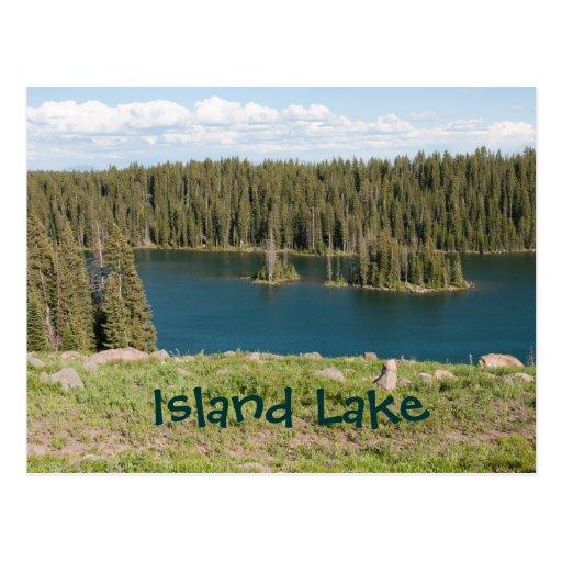 Island Lake Postcards