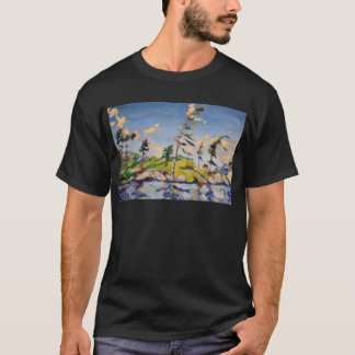 Island Landscape Painting T-Shirt