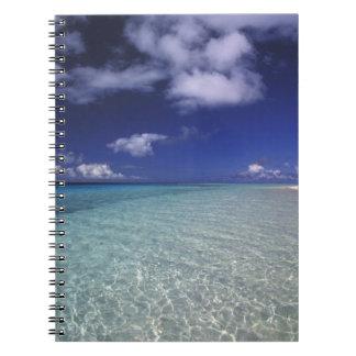 Island landscape, Vava'u Island,Tonga 2 Spiral Notebook
