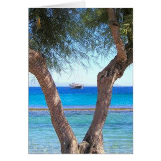 Island Life Mykonos, Greece Card