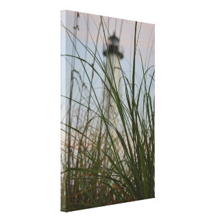 Island Lighthouse - Wrapped Canvas