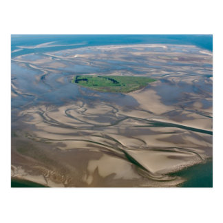 Island Neuwerk near Hamburg in German Wadden Sea Postcard