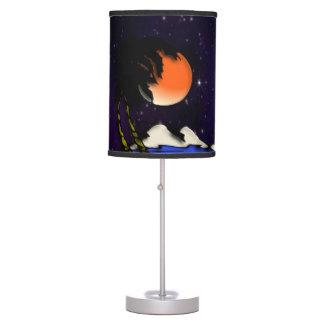 Island Night Design Table Lamp