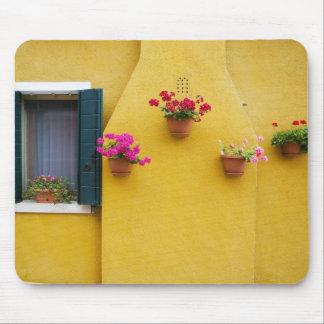 Island of Burano, Burano, Italy. Colorful Burano 3 Mouse Pad