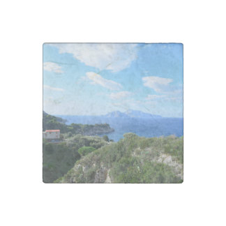 Island of Capri Stone Magnets