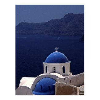 Island of Santorini Postcard