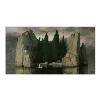 Island of the Dead, 1883 Arnold Bocklin Poster