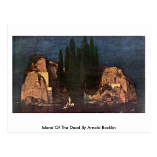 Island Of The Dead By Arnold Bocklin Postcard