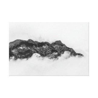 Island on clouds canvas print
