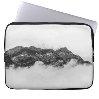 Island on clouds laptop computer sleeve