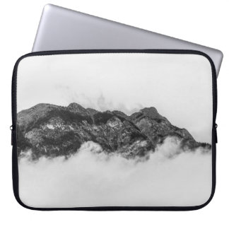 Island on clouds laptop sleeve