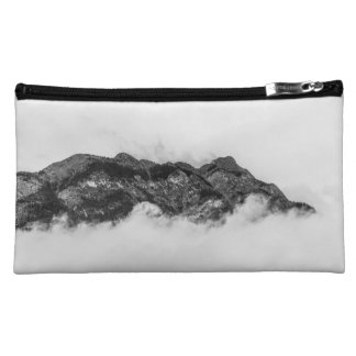 Island on clouds makeup bag