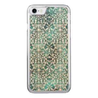 Island Paradise Blue Batik Shibori Damask Carved iPhone 8/7 Case