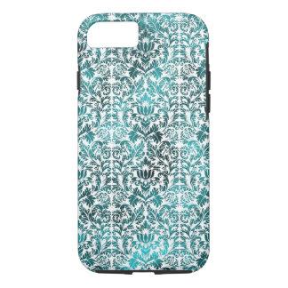 Island Paradise Blue Batik Shibori Damask iPhone 8/7 Case