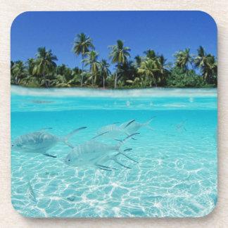 Island Paradise - Drink Coasters