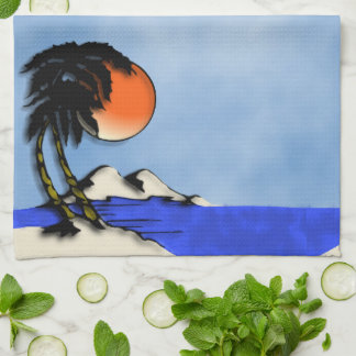 Island Paradise Kitchen Towel
