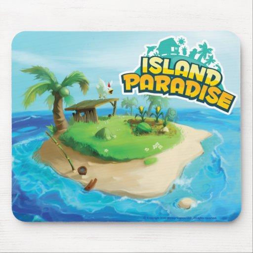Island Paradise Mousepad