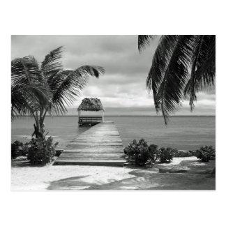 Island Pier Postcard