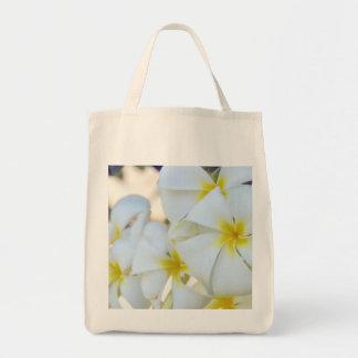 Island Plumeria Flowers Tote Bag