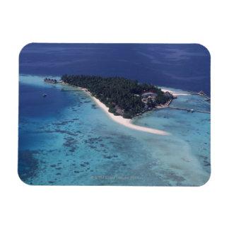 Island Rectangular Photo Magnet