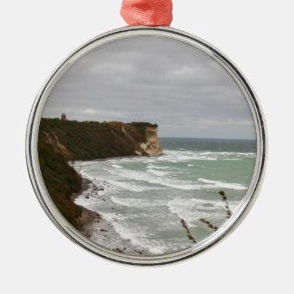 Island reproaches Cape Arkona Metal Ornament